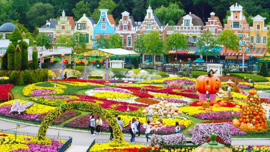 Everland Theme Park, Yongin, South Korea