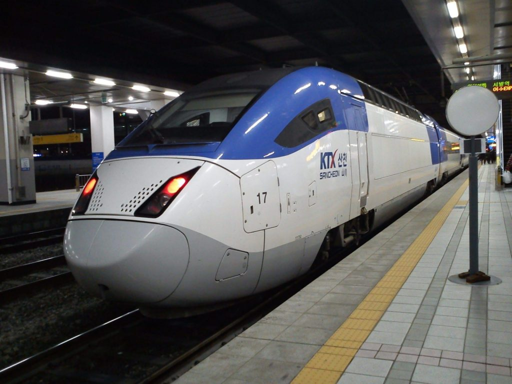 Ride The KTX from Seoul To Busan during your one week itinerary for Korea
