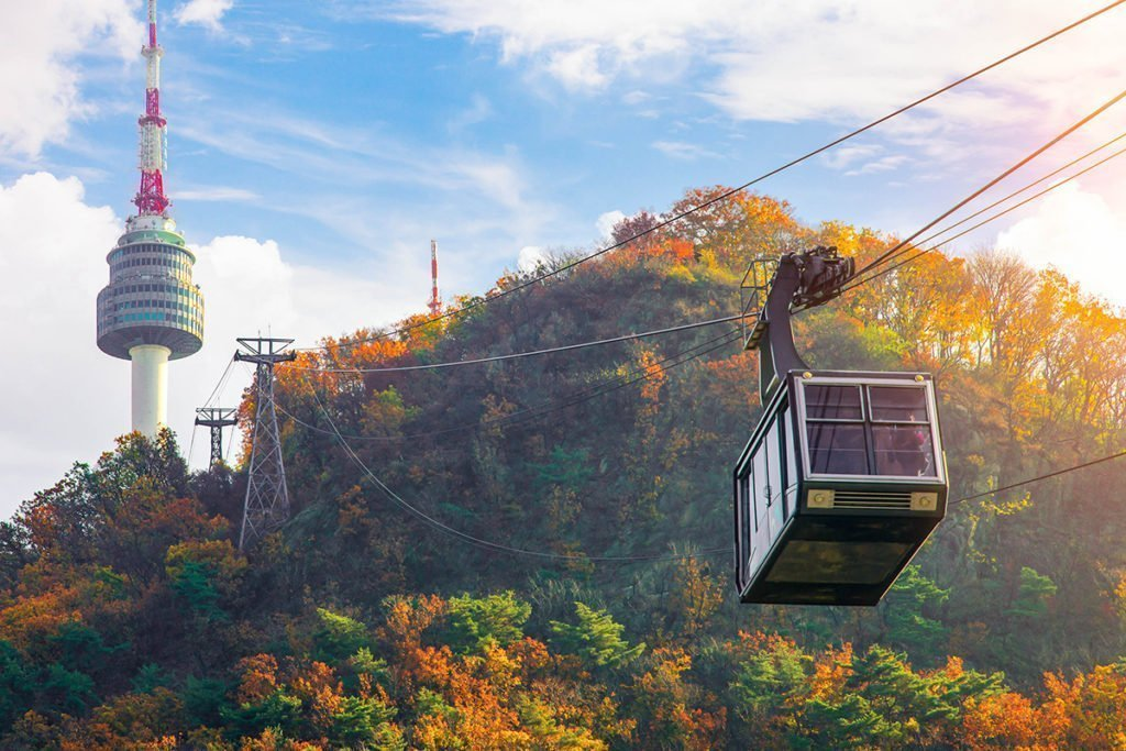 N Seoul Tower should be on your one week itinerary for Korea