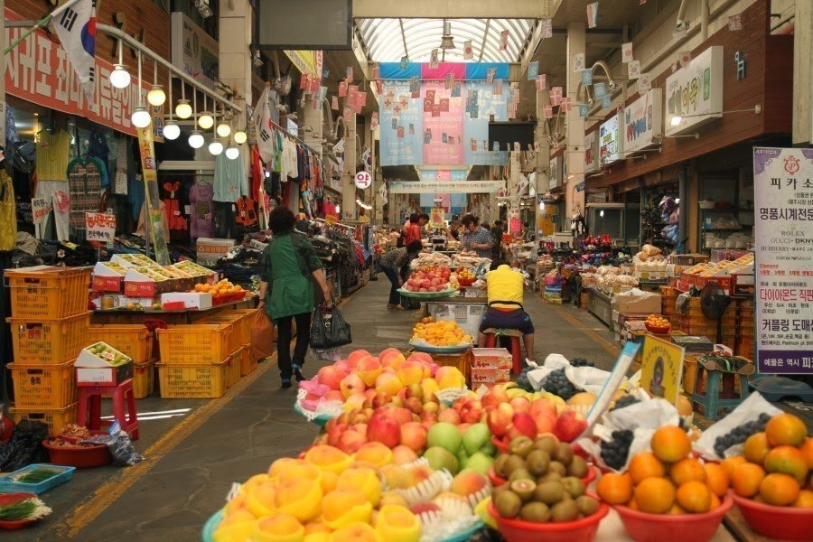 Seogwipo Maeil Olle Market - one of the biggest traditional markets on Jeju Island