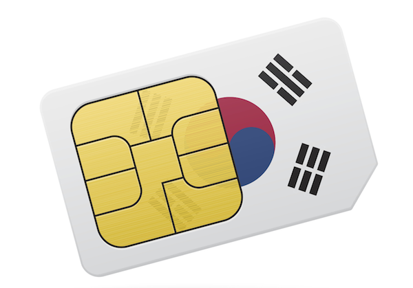 Sim cards and WiFi Egg options for traveling to South Korea