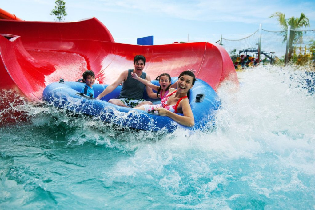 Caribbean Bay - one of the best ways to stay cool in summer in Korea.