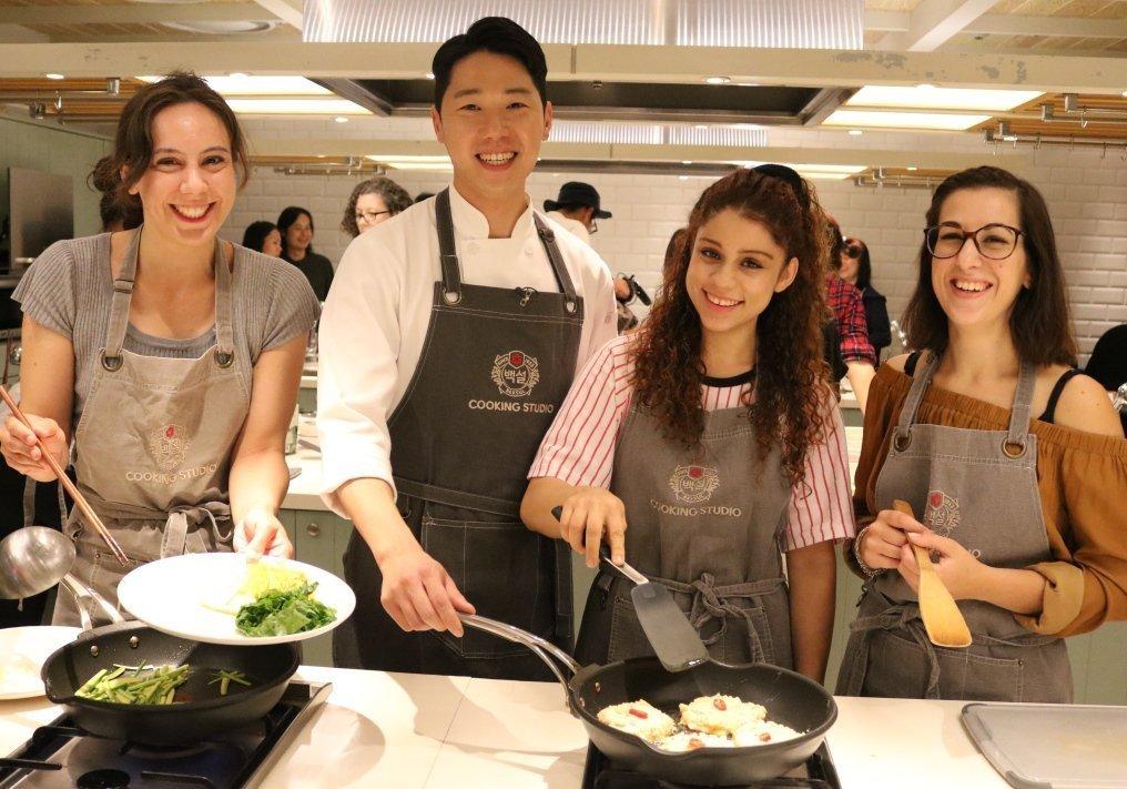 Learn Korean Cooking when it's raining in Seoul