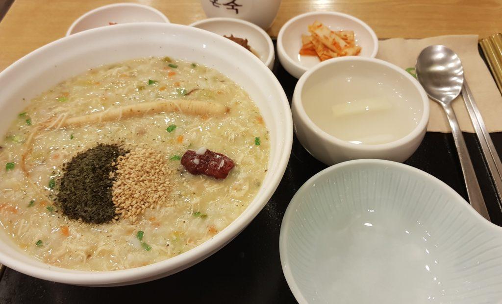 Korean porridge is great in winter, healthy and nutritious