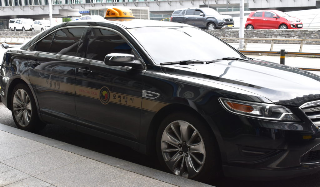 Deluxe Taxis won't save you money in Seoul