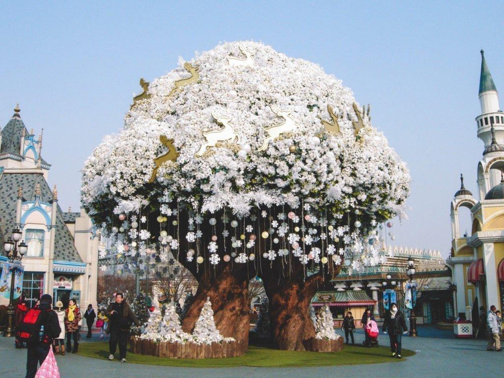 Everland Theme Park near Seoul, South Korea