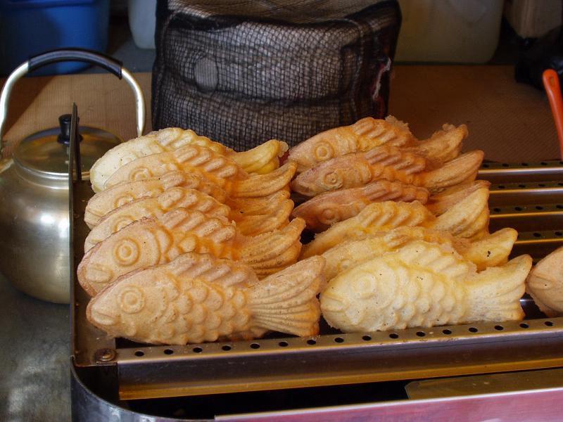 Goldfish bread