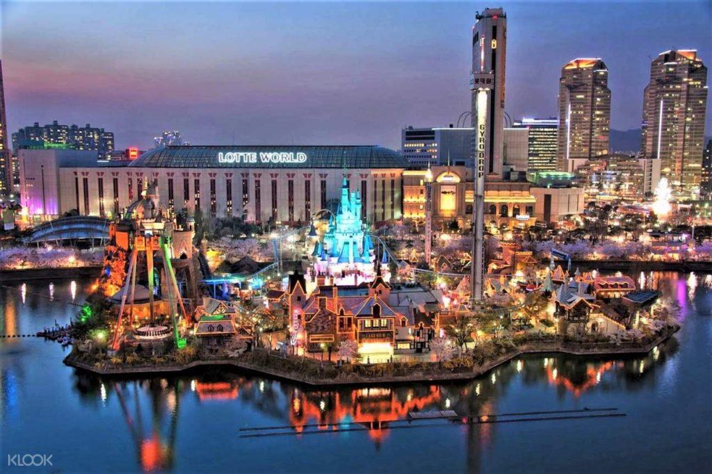 Lotte World in Seoul, South Korea