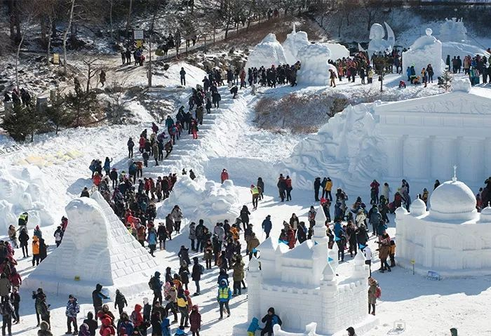 Winter Festivals in Korea, a great place where to see snow outside of Seoul