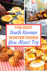 Best Korean Winter Foods Pinterest Pin