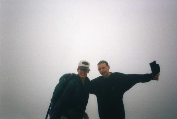 Joel And James On Scafell Pike