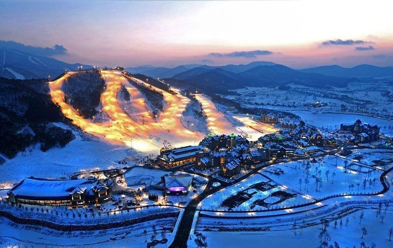 Alpensia Ski Resort In Koreaa