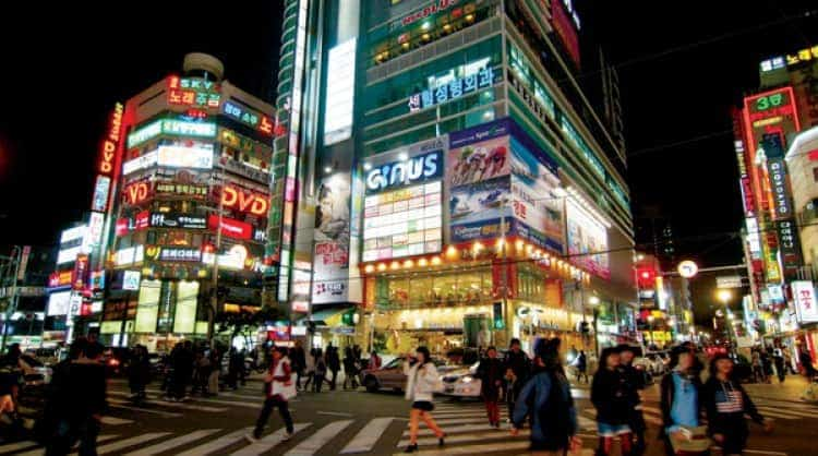 Night spots to add to your one week itinerary for Korea