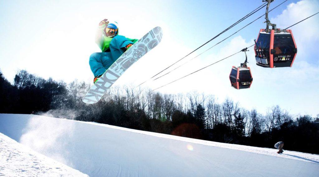 Vivaldi Ski Resort in Korea