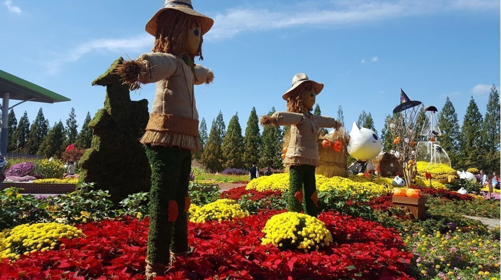 There are many spring festivals in Korea