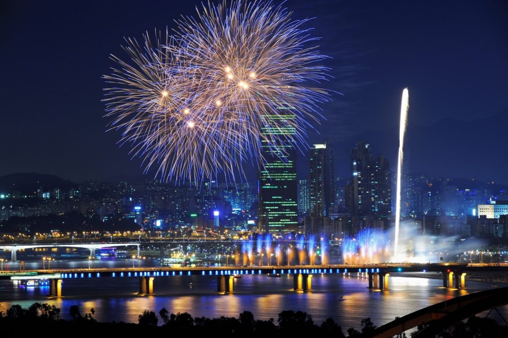 New Year's Eve Festival in Seoul