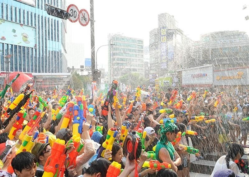 Sinchon Water Gun Fight
