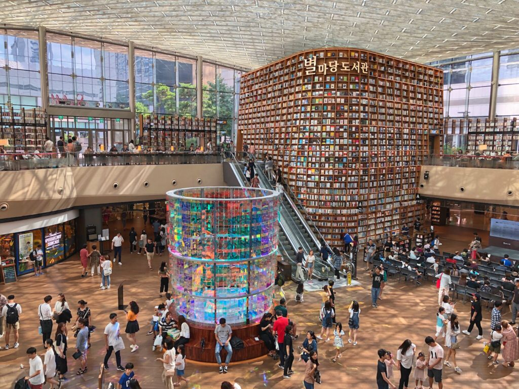 COEX Mall, which includes COEX Aquarium, is great with the Discover Seoul Pass