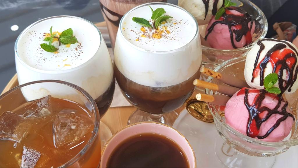 Greedy coffees in Korea