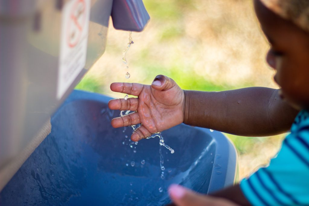 Washing hands while travelling in any country is important