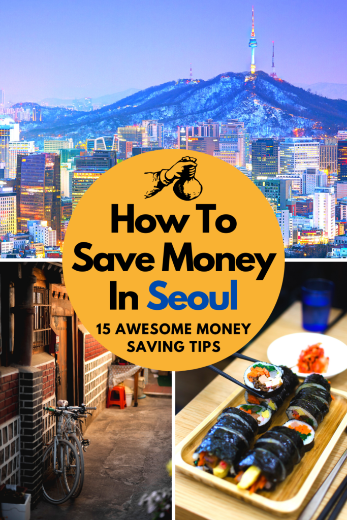 How To Save Money In Seoul Pin 1