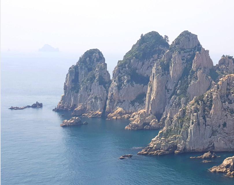 Island near Geoje, Korea.