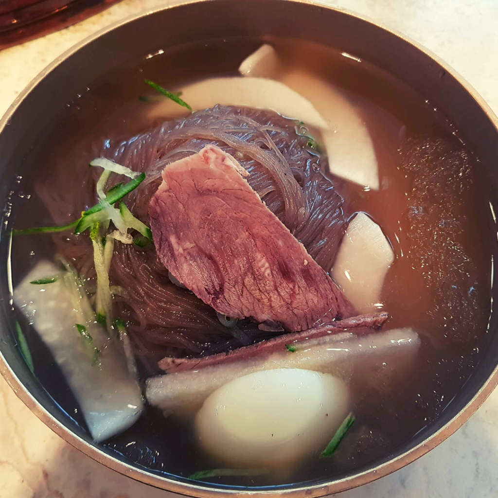 Naengmyeon, one of the best summer foods in Korea