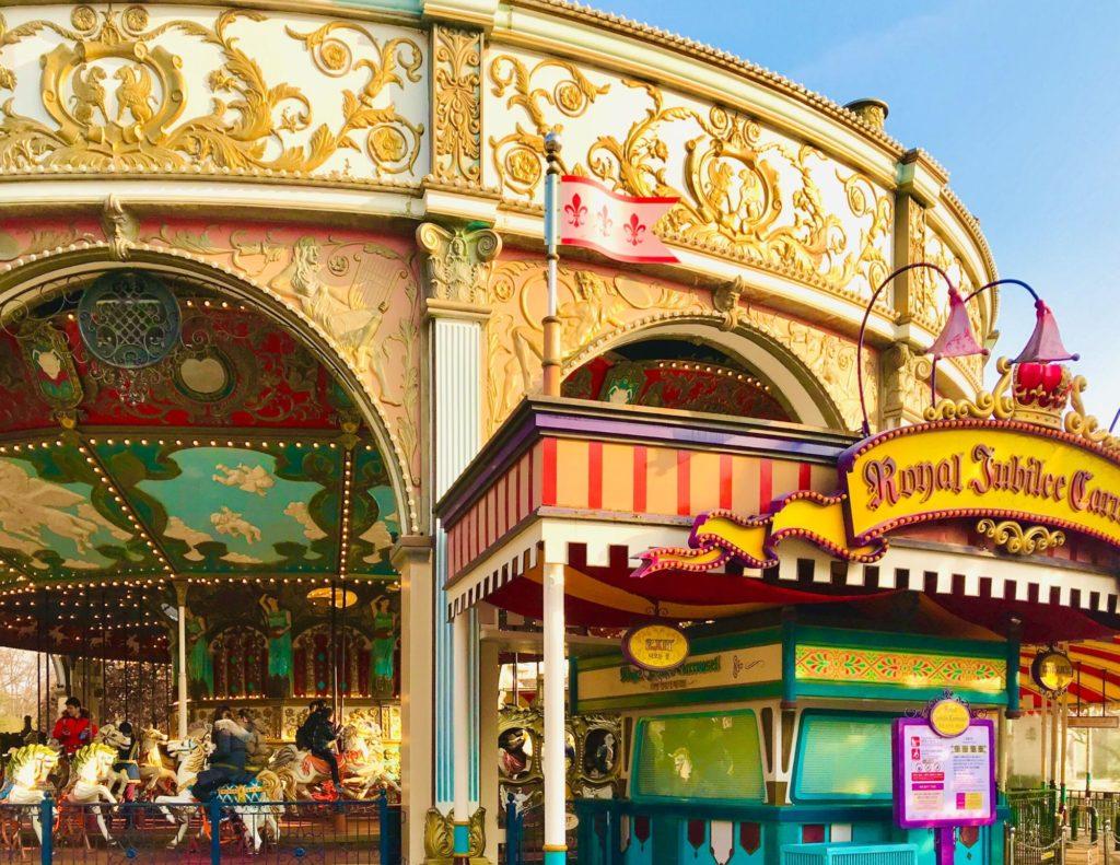 Everland Theme Park in Korea