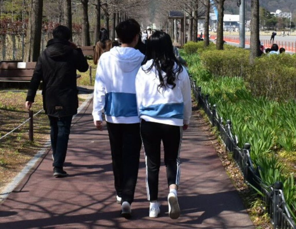Couples clothing in Korea