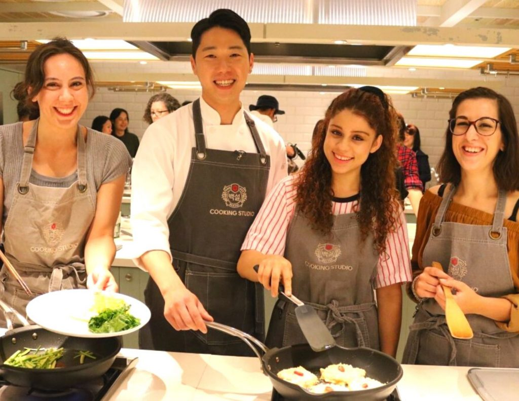 Try cooking your own traditional Korean dishes in Seoul