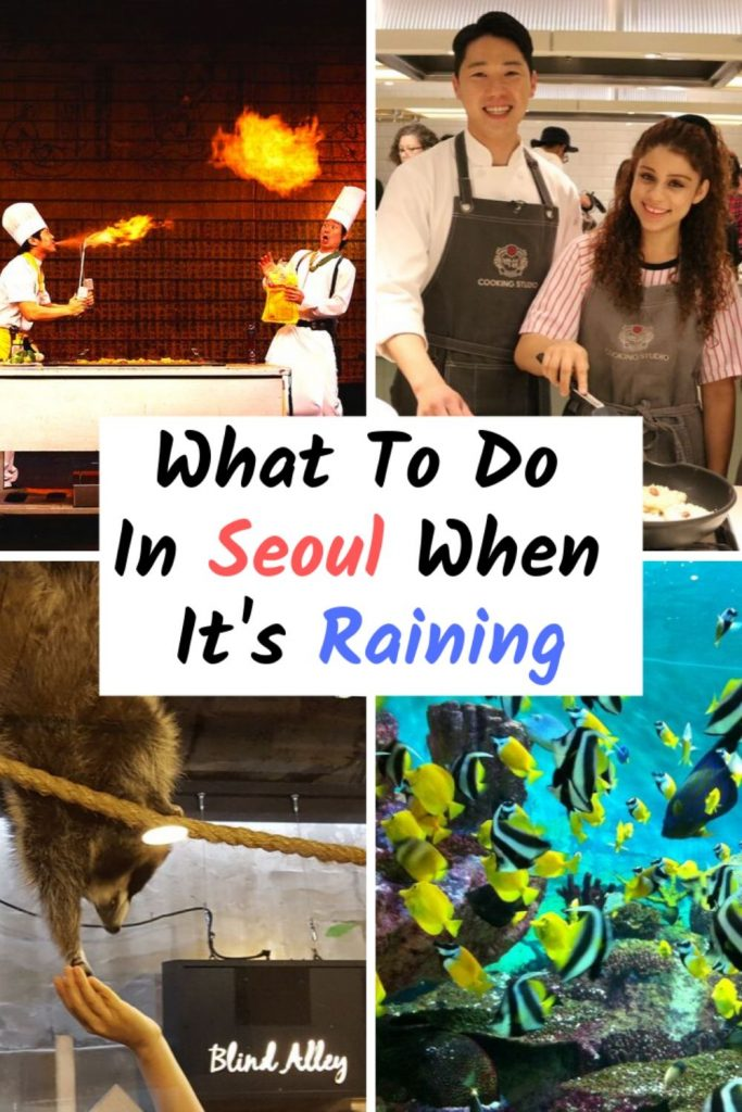 What To Do In Seoul When It's Raining