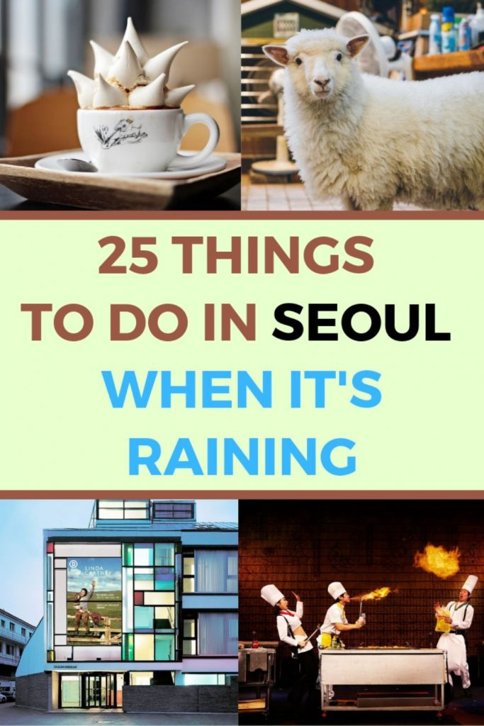 25 Things To Do In Seoul When It's Raining