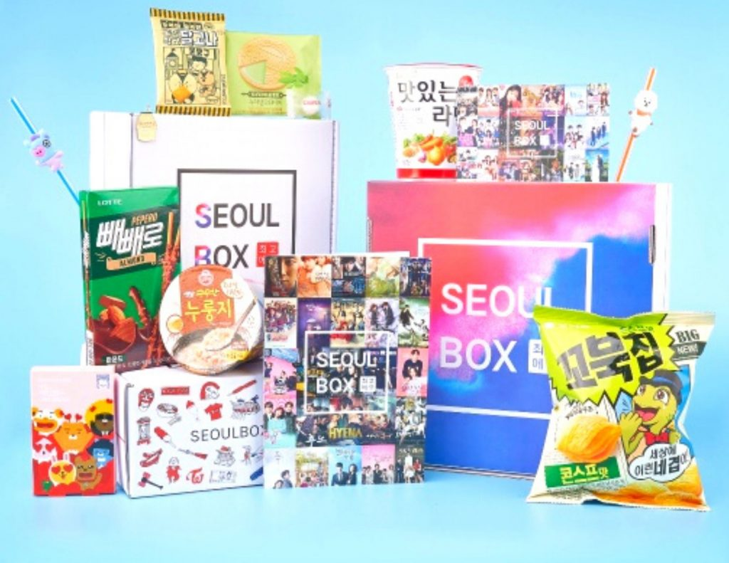 The Seoul Box will let you try lots of delicious Korean snacks