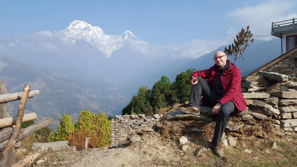Joel in Nepal