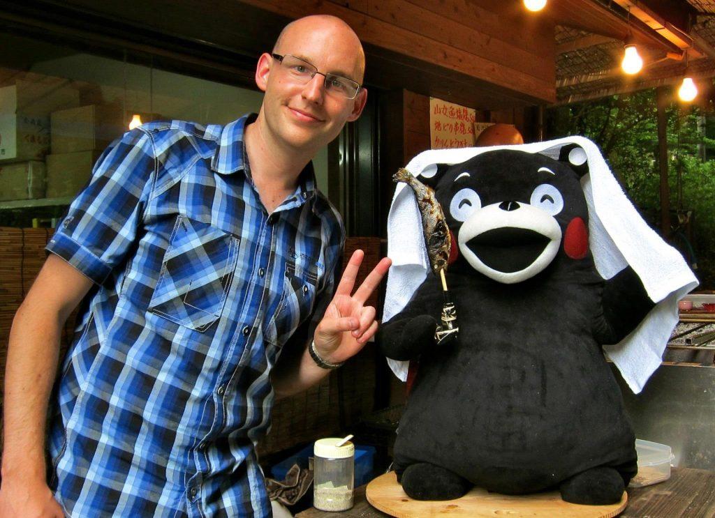 Joel in Japan