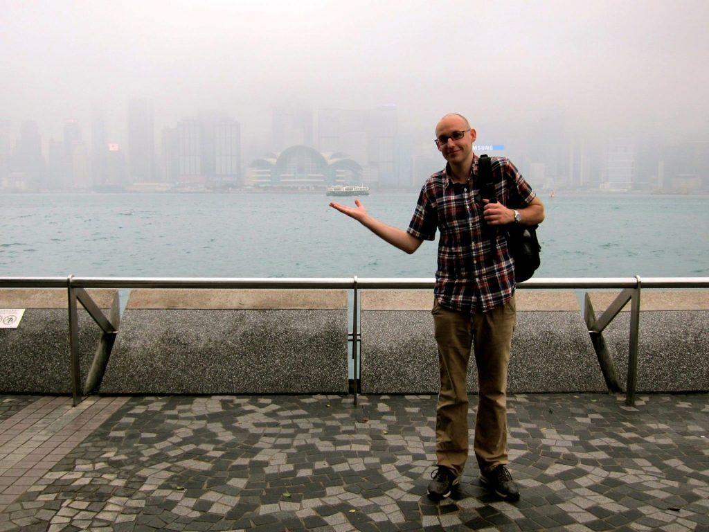Joel in Hong Kong