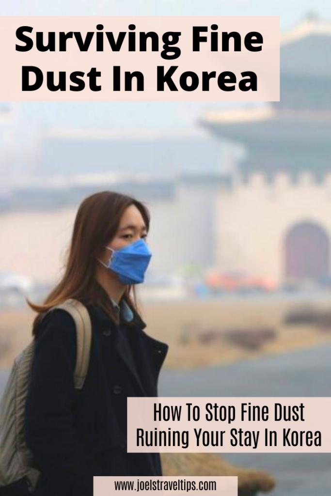 Fine Dust In Korea Pinterest Pin 1