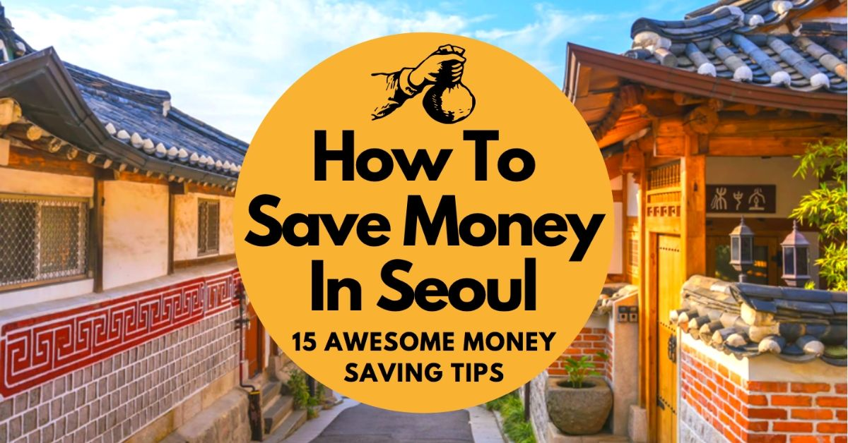 How To Save Money In Seoul Blog Banner