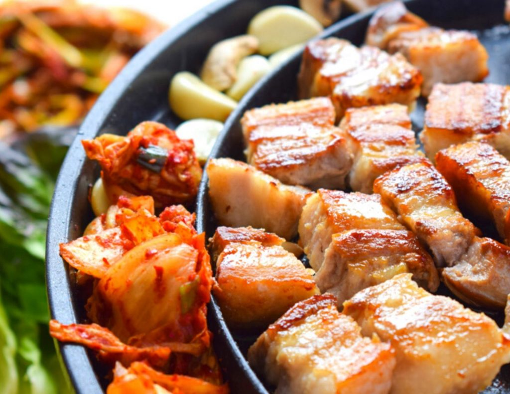 BBQ is one of the most popular traditional Korean dishes.