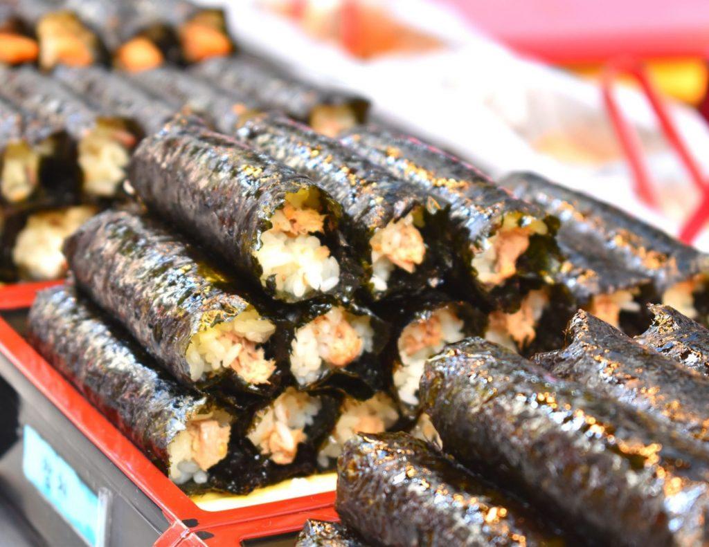 Gimbap - a versatile traditional Korean dish