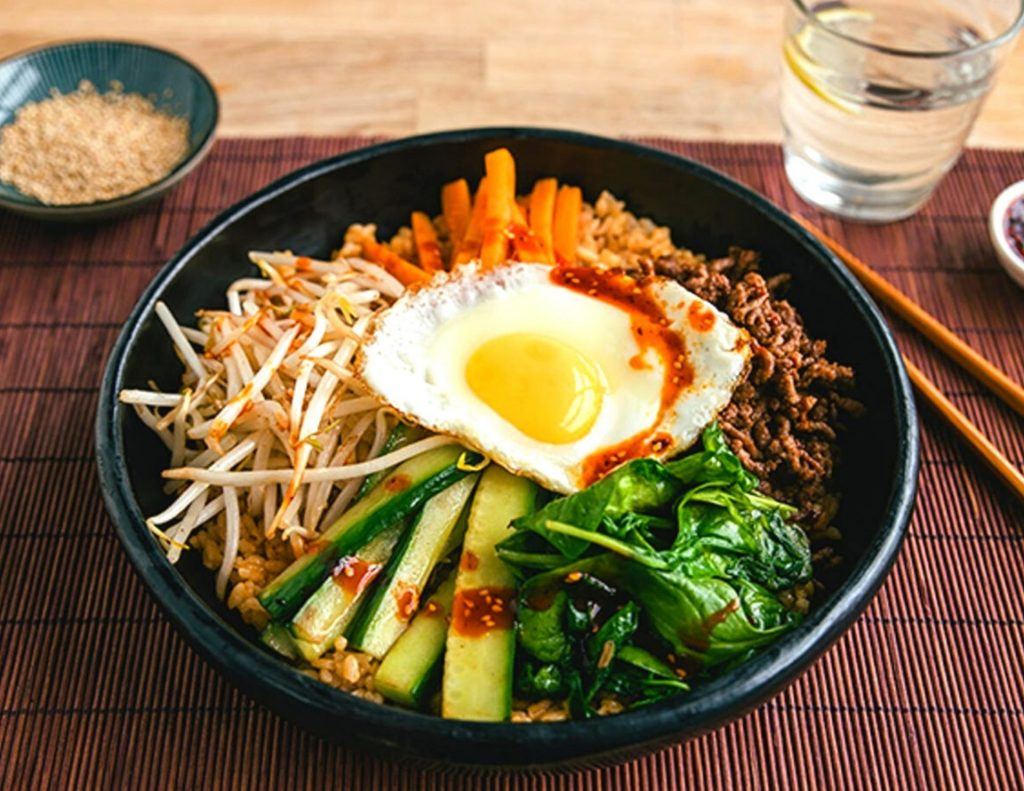 Bibimbap - one of Korea's most popular traditional dishes
