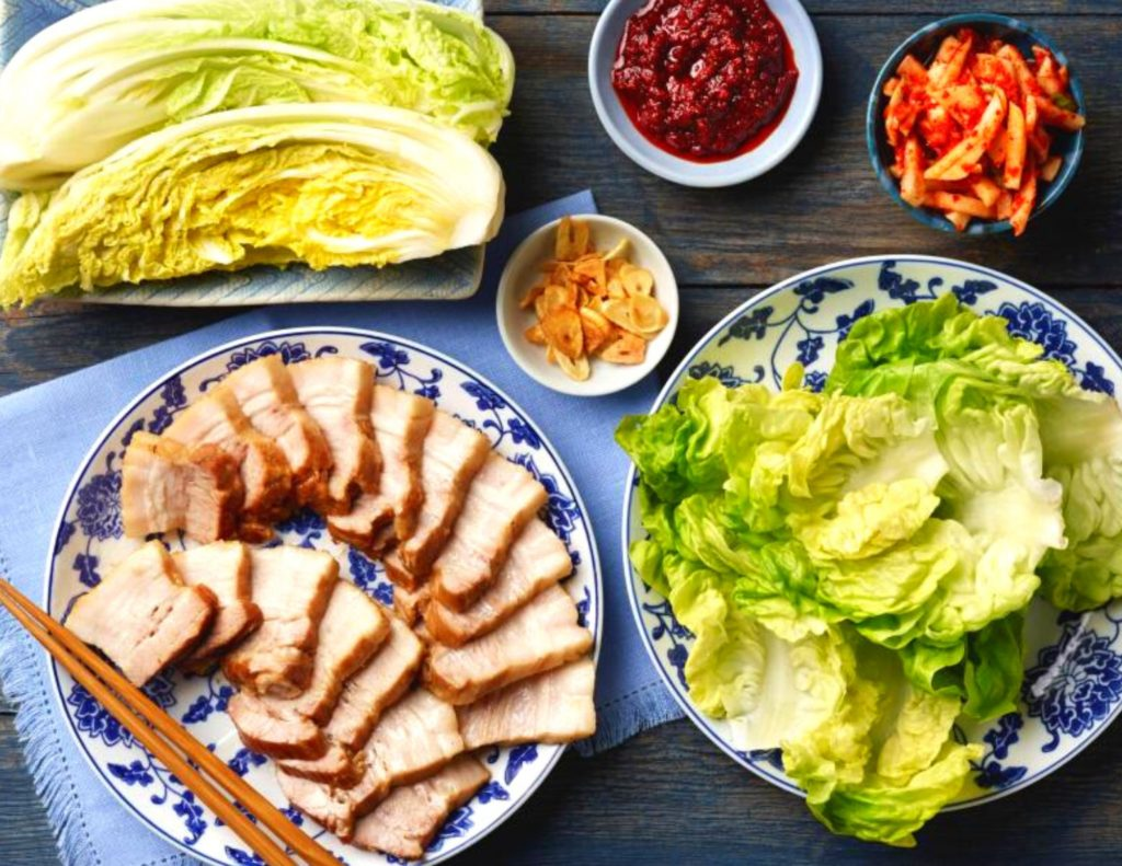 Bossam is an amazing traditional Korean dish