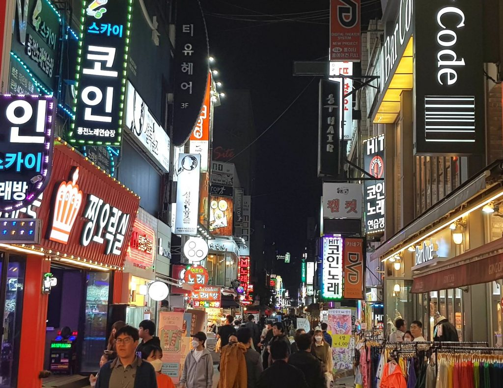 Shopping costs in Korea can be high