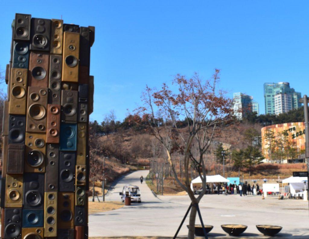 Oil tank culture park in Seoul, Korea