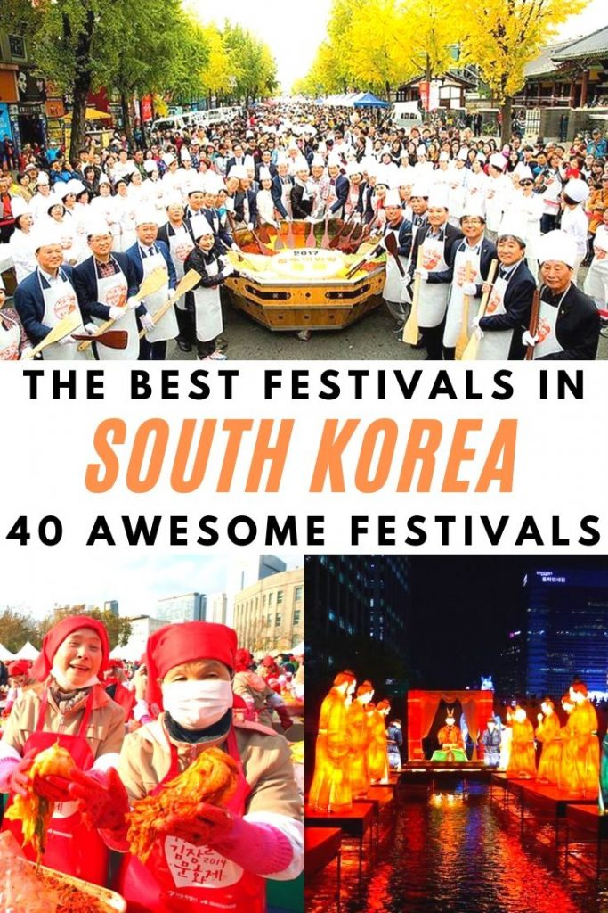 The Best Festivals In Korea