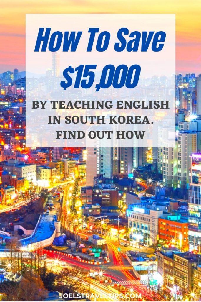 How to make money teaching in Korea with EPIK