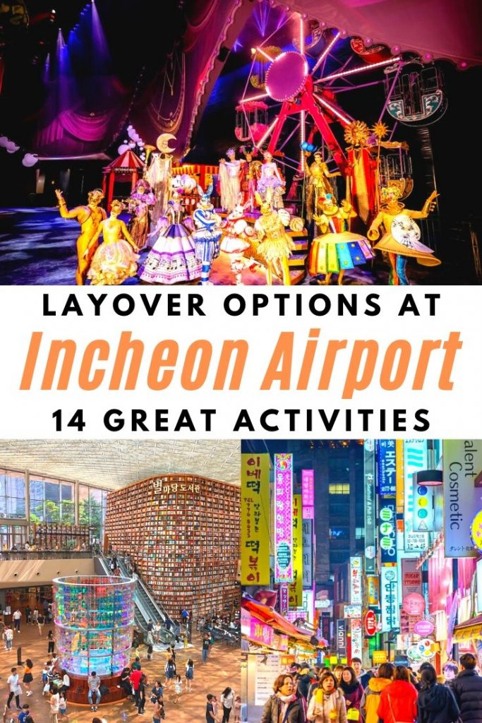 Incheon Airport Layover Guide Pin