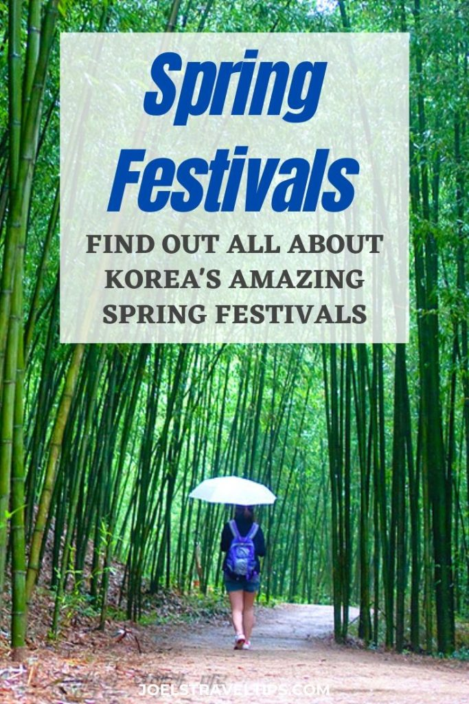 Spring Festivals In Korea