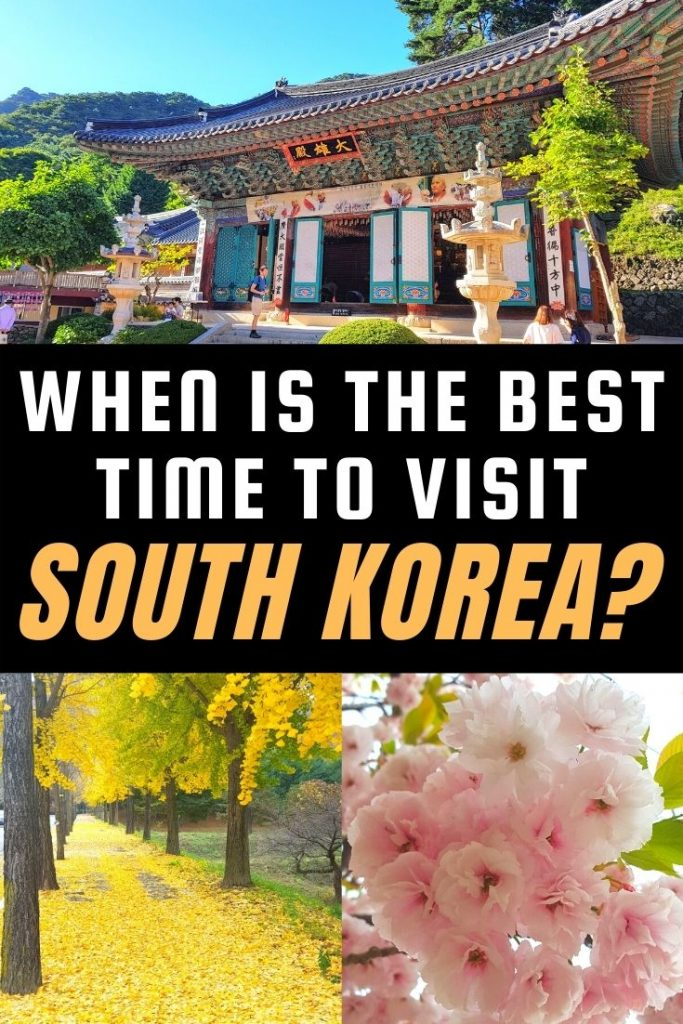 When Is The Best Time To Visit South Korea?