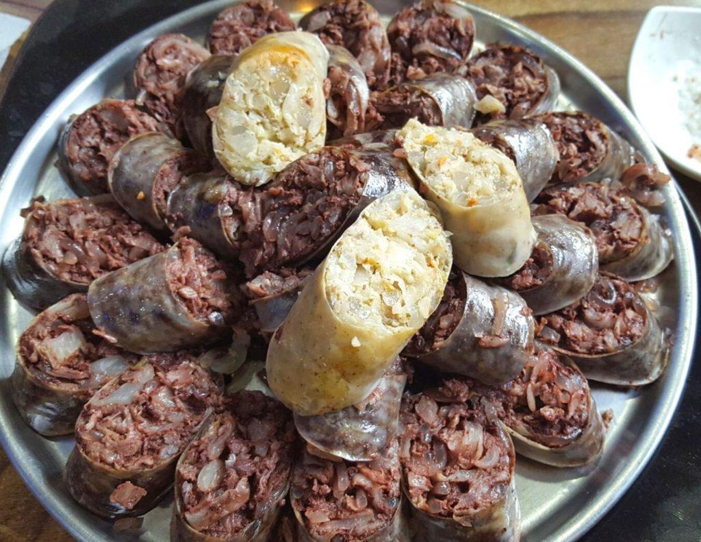 Sundae: Korean sausage